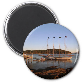 Early morning glow 2 inch round magnet