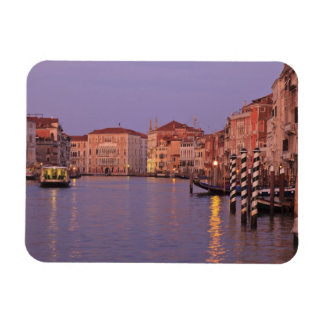 early morning Grand Canal Tour, Venice, Italy Rectangular Photo Magnet