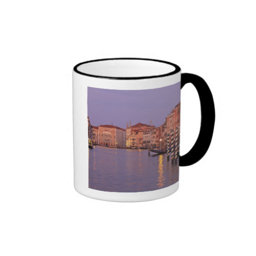 early morning Grand Canal Tour, Venice, Italy Ringer Mug