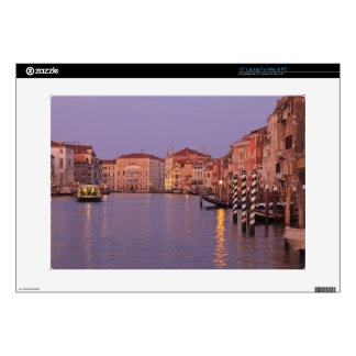 early morning Grand Canal Tour, Venice, Italy Laptop Decals