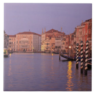 early morning Grand Canal Tour, Venice, Italy Tiles