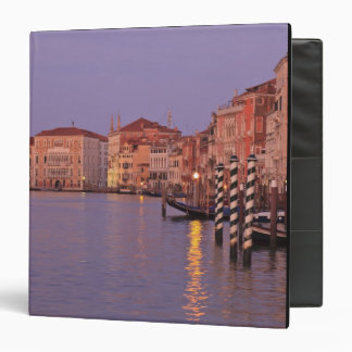 early morning Grand Canal Tour, Venice, Italy Vinyl Binders