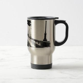 Early Morning in Manhattan 15 Oz Stainless Steel Travel Mug