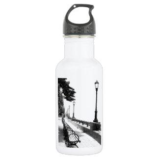 Early Morning in Manhattan 18oz Water Bottle