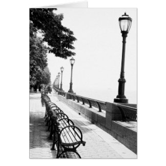 Early Morning in Manhattan Greeting Card
