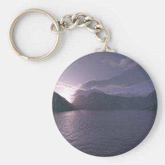 Early Morning Keychain