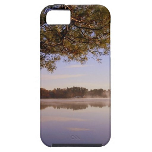 Early Morning Lakeside iPhone 5 Case
