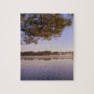 Early Morning Lakeside Jigsaw Puzzle