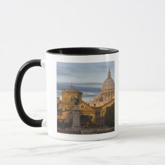 early morning light on the dome of St Peter's Mug