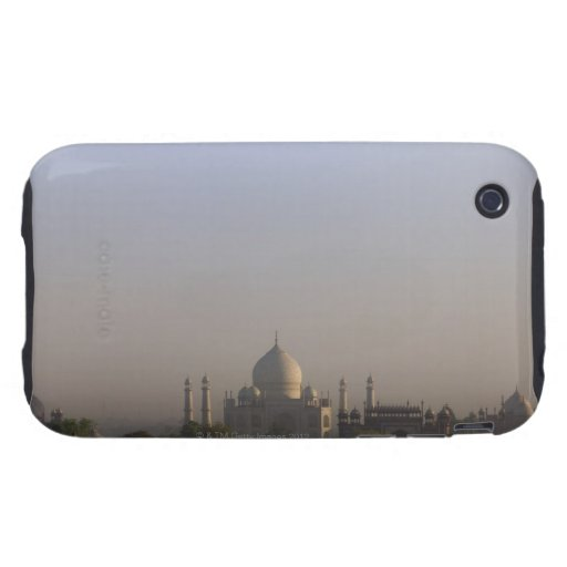 Early morning light on the dome of the Taj Mahal iPhone 3 Tough Cases