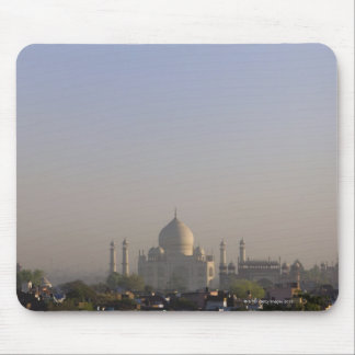 Early morning light on the dome of the Taj Mahal Mouse Pad