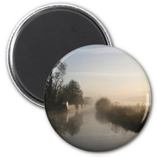Early Morning Llangollen Canal Sunrise Magnet