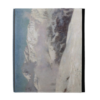 Early Morning Mist in the Mountains, Shilthorn (oi iPad Cases