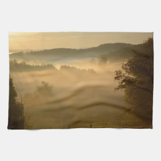 Early morning mist towel