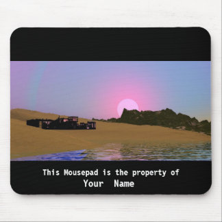 Early Morning Mousepad Mouse Pad