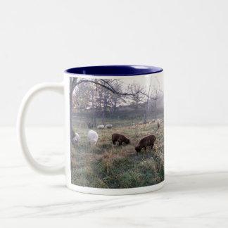 Early Morning Two-Tone Coffee Mug