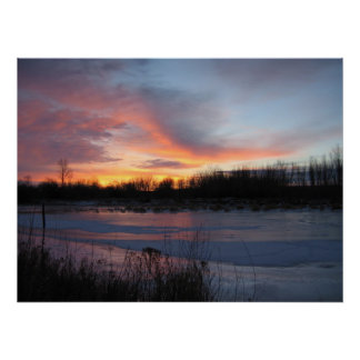 Early Morning Newfoundland 2006 Poster