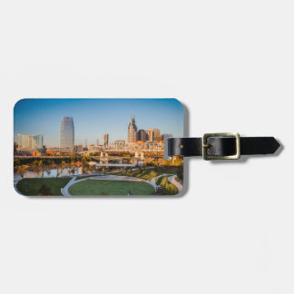 Early Morning Over Nashville, Tennessee, USA 2 Luggage Tag