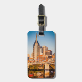 Early Morning Over Nashville, Tennessee, USA 3 Bag Tag