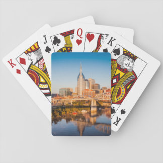 Early Morning Over Nashville, Tennessee, USA Card Deck