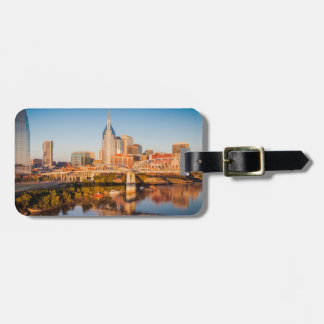 Early Morning Over Nashville, Tennessee, USA Tag For Luggage