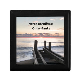 Early morning over the Outer Banks of NC Keepsake Box