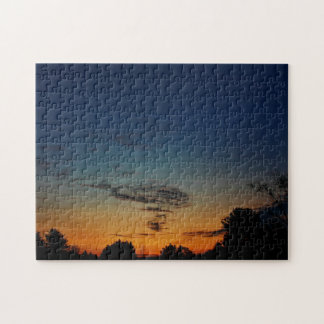 Early Morning Painted Sky Jigsaw Puzzle
