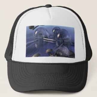 Early Morning Raid Trucker Hat