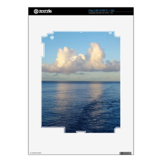 Early morning Seascape Cloud reflections Decal For iPad 2