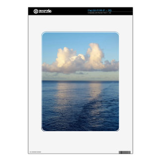 Early morning Seascape Cloud reflections Decals For iPad