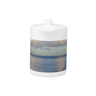 Early morning Seascape Cloud reflections Teapot