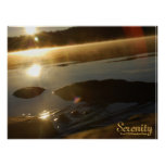 Early Morning Serenity Print - With Label