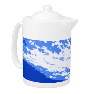 Early Morning Sky Designed by Admiro Teapot
