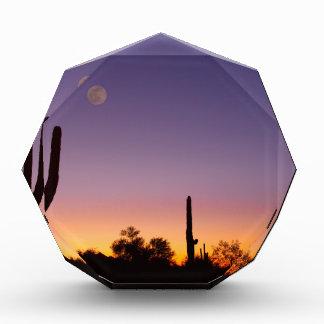 Early Morning Southwest Desert Moon Glow Awards