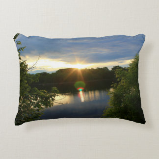 Early Morning Sunrise Accent Pillow