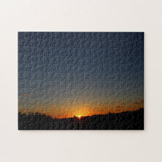 Early Morning Sunrise and Sky Summer 2016 Jigsaw Puzzle