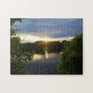 Early Morning Sunrise Jigsaw Puzzle