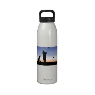 Early Morning Tee Time Water Bottles