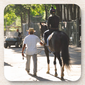 Early Morning Workouts at Saratoga Beverage Coasters
