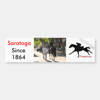 Early Morning Workouts at Saratoga Bumper Sticker