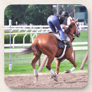 Early Morning Workouts at Saratoga Beverage Coaster