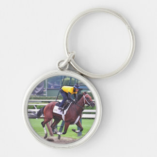 Early Morning Workouts at Saratoga Keychain