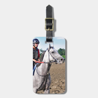 Early Morning Workouts at Saratoga Travel Bag Tags