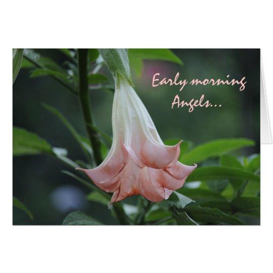 Early morningAngels... Card