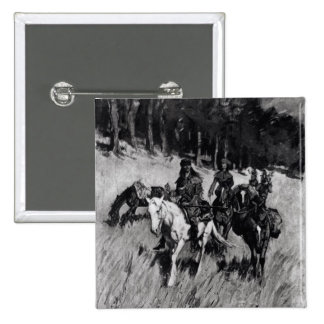 Early Pioneers on the Blue Ridge 2 Inch Square Button