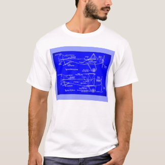 Early plans for aircraft T-Shirt