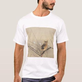 Early Plum Blossoms by Nishimura Goun, Vintage Owl T-Shirt
