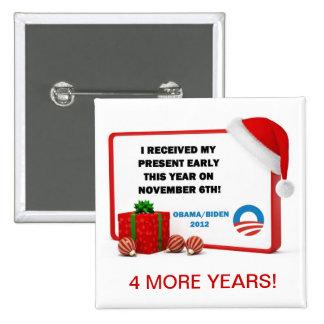 Early Present Obama-Biden Pin