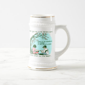 Early Reading Beer Stein