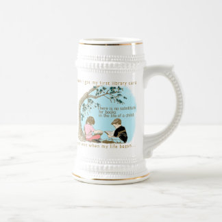 Early Reading Encouragement Beer Stein
